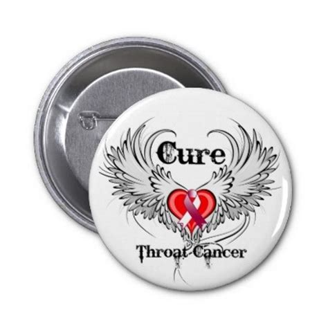 throat cancer color pin by yvonne subbert on cancer