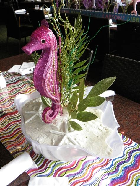 Seahorse Baby Shower Decorations by 78 Images About Baby Shower Mermaid Theme On