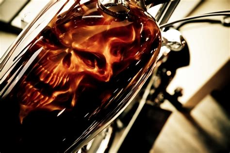 spray paint ghost rider davinci just airbrush