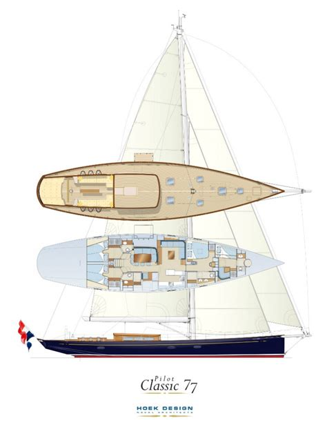 Modern House Layout construction of new pilot classic 77 claasen shipyards