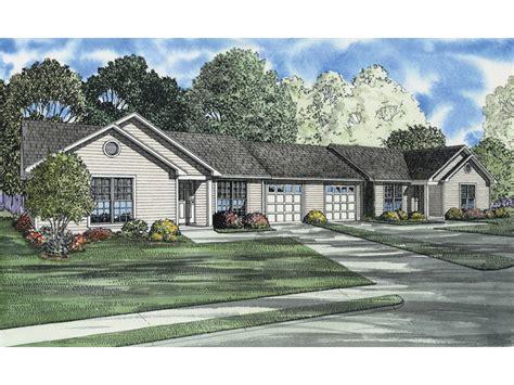 Ranch Duplex Plans by Wildbrook Acres Ranch Duplex Plan 055d 0396 House Plans