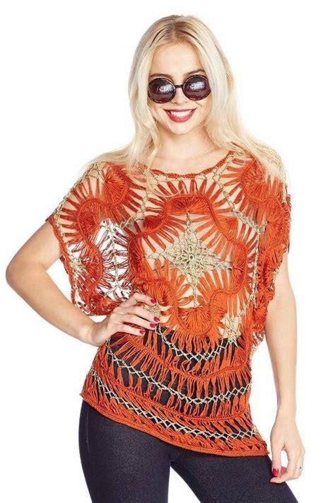 blusas de orquilla blusa tratando de tejer prendas tejidas hermosa blusa tejida en horquilla tejido con horquillas