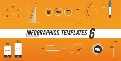 Infographics Templates 6 By Perrycox Videohive After Effects Infographic Template