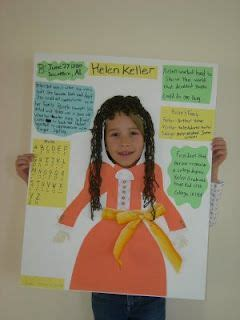 biography ideas for 5th graders language third grade and poster on pinterest