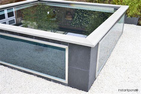 Upgrade Concrete Patio Instantpond 174 Official Site Atlantica Gardens Bespoke