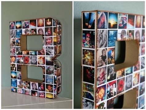 Handmade Photo Collage Ideas - 12 fabulous memorable diy graduation gifts diy