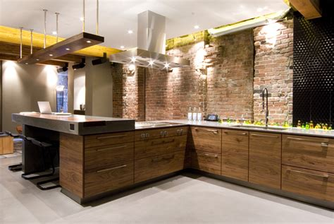 warehouse kitchen design ultimate bachelor loft in a remodeled warehouse digsdigs