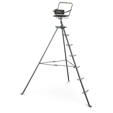 12 foot tree stand big 12 pursuit tripod deer stand 592544 tower