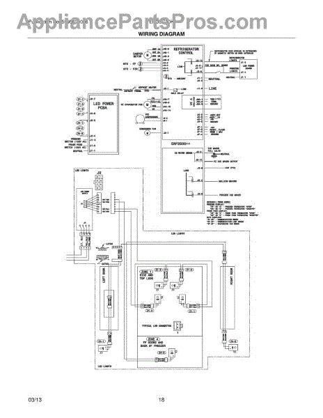 wiring diagram for frigidaire refrigerator parts for frigidaire ei23bc30kb3 wiring diagram parts