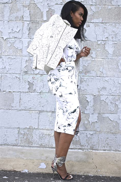 How To Dress Like A Modern Day Bombshell by Fashion Bombshell Of The Day Kameel From Nyc Fashion