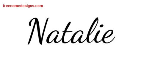 natalie archives free name designs