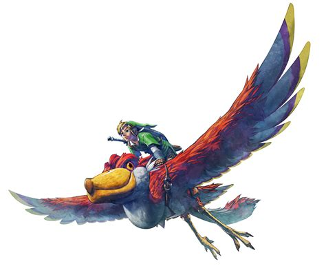 skyward sword medli s messages e3 2011 new character artwork