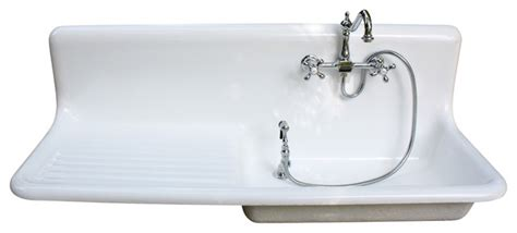 consigned 1927 american standard cast iron farm sink