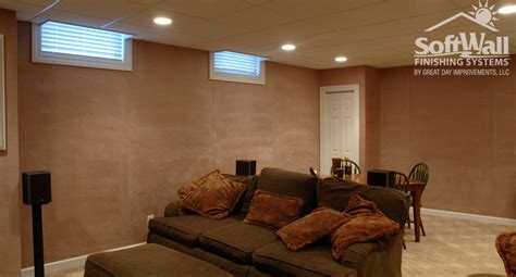 Contemporary Home Designs And Floor Plans by Finish Basement Walls Without Drywall And Wall Finishing
