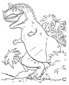 color a dinosaur dinosaur coloring pages