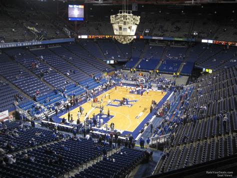 arena section rupp arena section 219 rateyourseats com