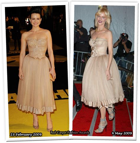 Who Wore Dolce Gabbana Better Carpet Style Awards 2 by Who Wore Dolce Gabbana Better Carla Gugino Or