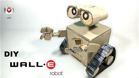 membuat robot wall follower cara membuat robot wall e dari kardus bekas youtube