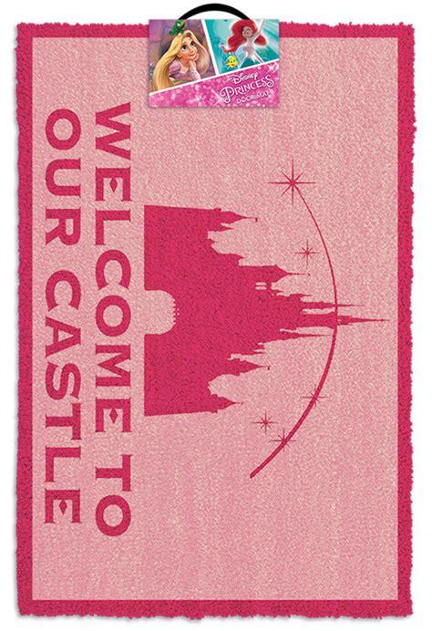 Disney Hotel Door Mat - disney princess welcome to our castle doormats posters