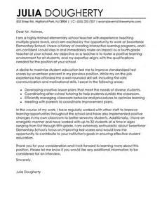 Cover Letter For Education Support 25 Best Ideas About Cover Letter On