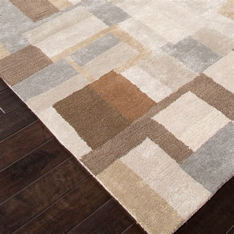 Blue Area Rug Silk Gray Brown Jaipur Rugs Touch Blue Grey Brown Area Rug