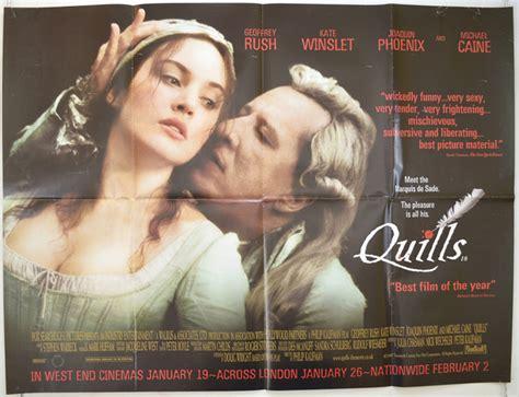 quills movie full quills original cinema movie poster from pastposters com