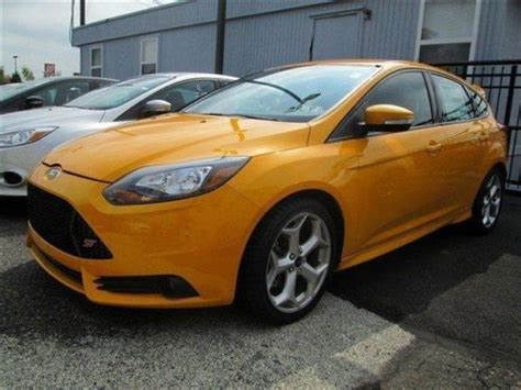 ford focus st seats buy new ford focus st turbo 6 speed recaro seats moon roof