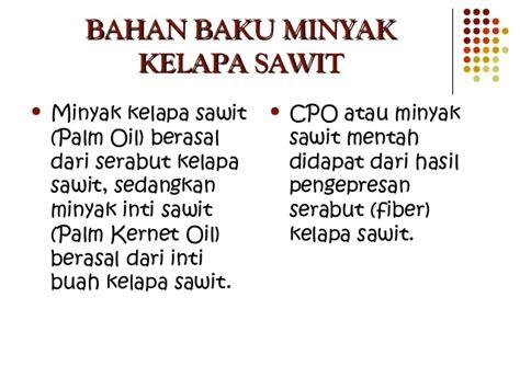 Minyak Kelapa Sawit Terbaru pabrik minyak kelapa sawit