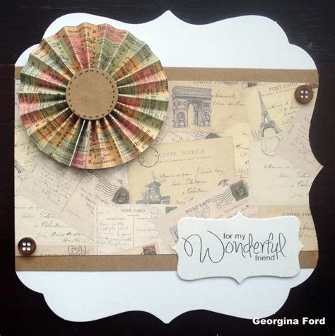Craft Works In Paper - 20 best postcard from paper pad images on