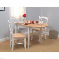 White Bistro Set For Small Space Living » Home Design 2017