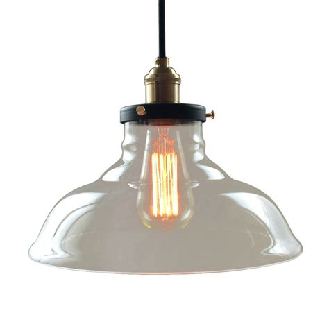 Bell 1 Lights Large Glass Kitchen Pendant Light Large Glass Pendant Light