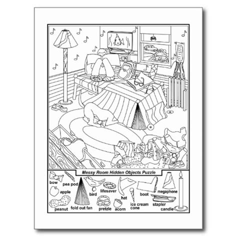 free printable hidden picture search puzzles 6 best images of find hidden objects puzzles printable