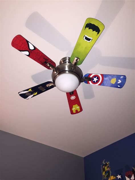 boys bedroom ceiling fans spiderman ceiling fan lighting and ceiling fans