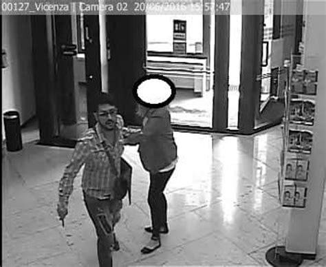 banca popolare di verona desenzano vicenza rapina con ostaggio in banca identificato e