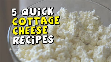 5 cottage cheese recipes
