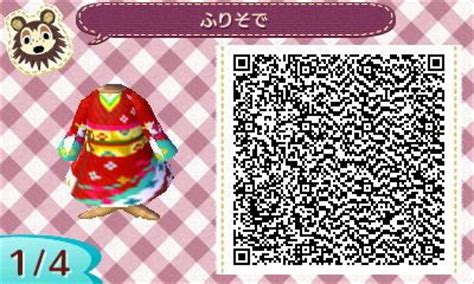 kimono pattern animal crossing red kimono animal crossing qr code animal crossing