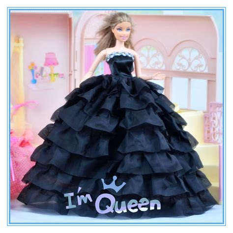design dress toy new design doll dresses fashion colors style handmade gown