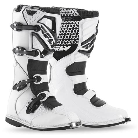 fly motocross boots maverik youth white boot fly racing motocross