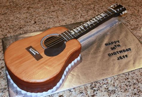 guitar templates for cakes acoustic guitar cake template cakepins lou s bbq