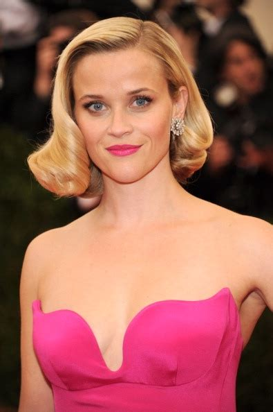 Reese Witherspoon For Estee Lauder by Power Pouts See The Met Gala S Boldest Statement