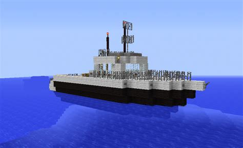 minecraft ferry boat white fishing boat grabcraft your number one source