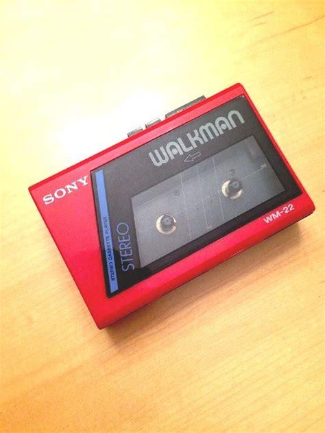 walkman cassette player sony walkman wm 22 working condition vintage 80s