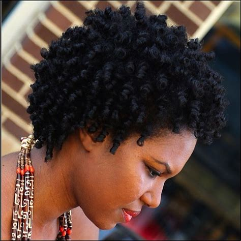 4d natural hair luxurious perm rod set on short hair