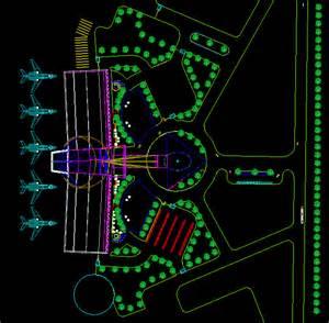 Home Design 3d Floor Plans Airport Design Study Mlv In Autocad Drawing Bibliocad