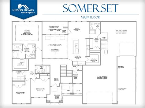 somerset floor plan somerset floor plan rambler new home design nilson homes