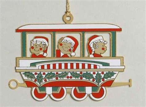 moveable christmas train ornaments reed barton ornaments at replacements ltd