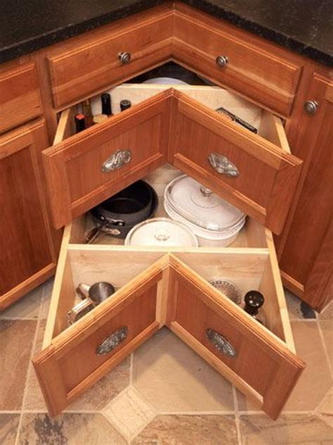 corner kitchen storage cabinet clever kitchen storage ideas 2017