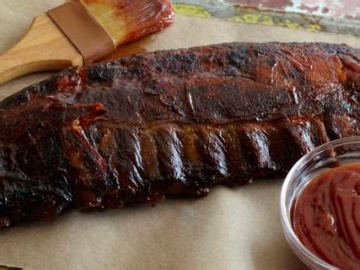 Alton Brown Backyard Baby Back Ribs by Parboiled Baby Back Ribs Recipe Food Network