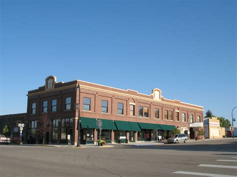 Blockers Commercial File Commerce Block Commercial Building In Glenrock Wy Usa Jpg Wikimedia Commons