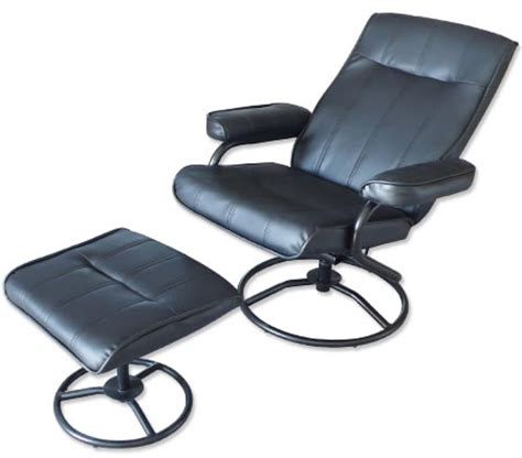 recliner chair foot stool leather office chair